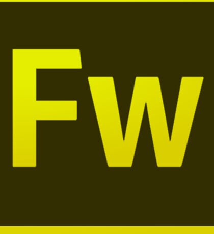 Fire Works CS6 Logo Sticker