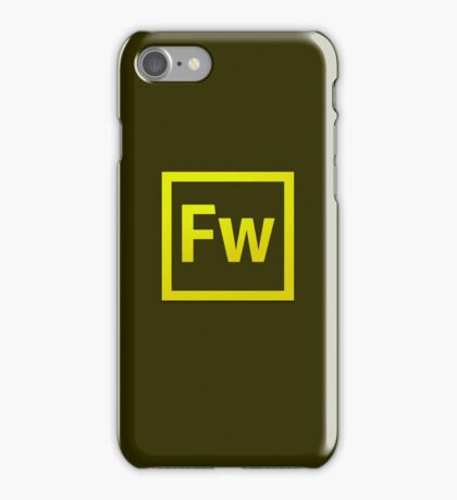 Fire Works CS6 Logo iPhone Case/Skin