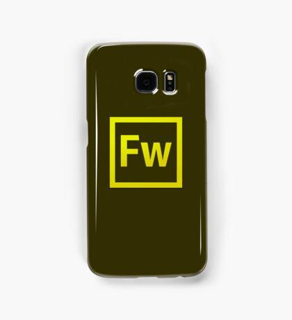 Fire Works CS6 Logo Samsung Galaxy Case/Skin