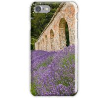 Lavender walled garden. iPhone Case/Skin