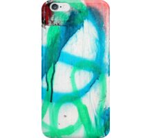 Skins:  Blue Paint iPhone Case/Skin