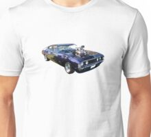 Purple Ford Falcon with Blower Unisex T-Shirt