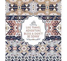 Aztec  decorative seamless pattern Photographic Print