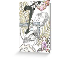 american sculpture tangle Greeting Card