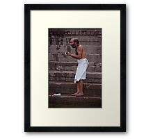 Ganges Clean Framed Print