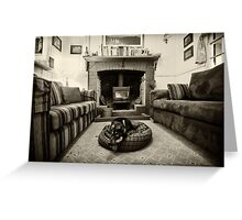 A Cosy Nook Greeting Card