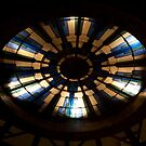 Lighted Glass Dome by phil decocco