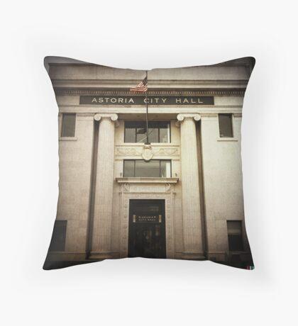 City Hall (Astoria #3) Throw Pillow