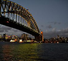 Sydney Harbour Bridge by Deborah Clearwater