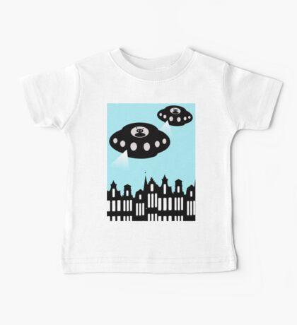 Aliens invading Amsterdam Baby Tee