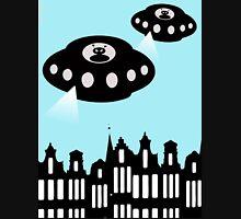 Aliens invading Amsterdam Hoodie