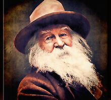 Walt Whitman in Oil by Richard  Gerhard
