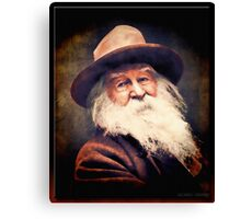 Walt Whitman in Oil Canvas Print