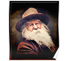 Walt Whitman in Oil Poster