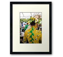 Bubbled And In Bloom Framed Print