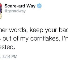 Gerard Tweet by gerardslay