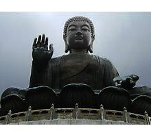 Giant Buddha Statue Photographic Print