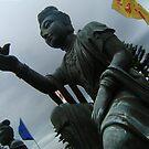 Buddhist Statue by cadellin