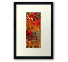 I Know Why the Caged Bird Sings I Framed Print