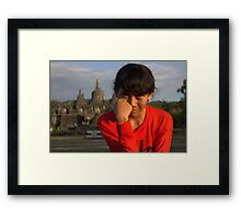 She are Beautiful Framed Print