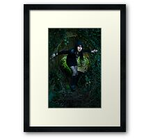The Wiccan  Framed Print