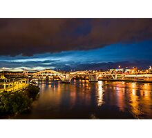 Approaching Storm over Brisbane Photographic Print