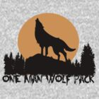 One Man Wolfpack by personalized
