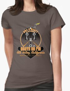 Doc and Marty in the Morning Womens Fitted T-Shirt