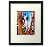 Don't Colour My Tattoo Framed Print