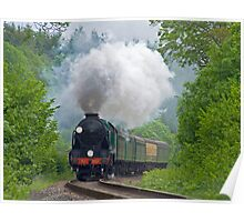 Lord Nelson - The Watercress Line Poster