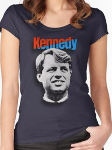 RFK 1968 Campaign Poster t-shirt Women's Fitted Scoop T-Shirt
