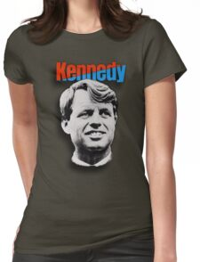 Robert Kennedy 1968 Campaign Poster Womens Fitted T-Shirt
