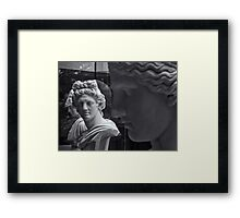 quiet comment Framed Print