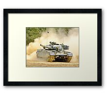 Dusty Chieftain - War and Peace Framed Print