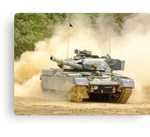 Dusty Chieftain - War and Peace Canvas Print