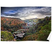 A Grand View - Mannum Falls, Murraylands, SA Poster