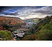 A Grand View - Mannum Falls, Murraylands, SA Photographic Print