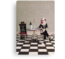 Lonely as a Clown Canvas Print