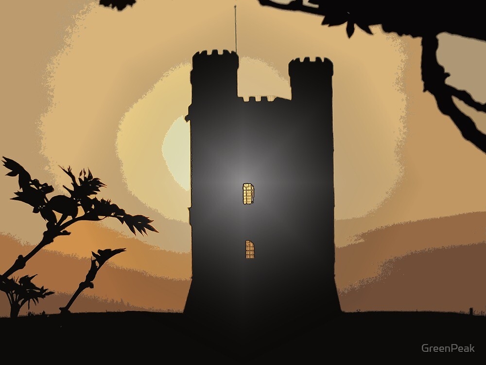 Broadway Tower by Paul  Green