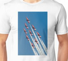 Red Arrows - Diamond Roll Unisex T-Shirt