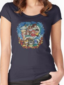 Totoro & Company Women's Fitted Scoop T-Shirt