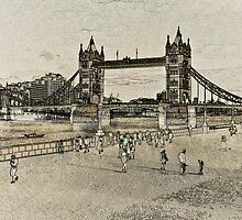 Southbank London View by DavidHornchurch