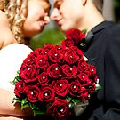 Red Flower Wedding by Puggs