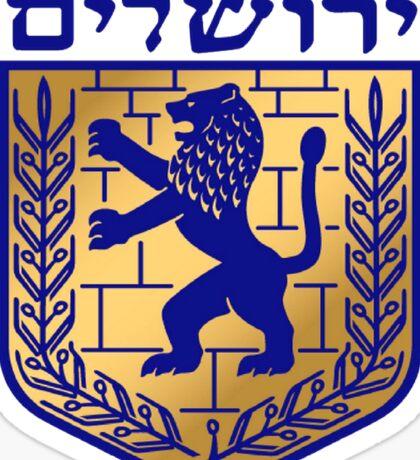 Jerusalem City Emblem Sticker