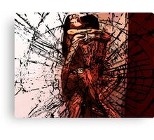 Orgasm! Against the Wall! Canvas Print