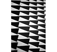 Abstract spike wall Photographic Print