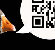 Goosey says Honk Sticker