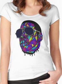 Rap Gangster Women's Fitted Scoop T-Shirt