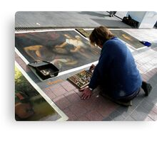 chalk master Canvas Print