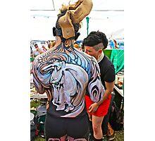 Punked Stallion Photographic Print